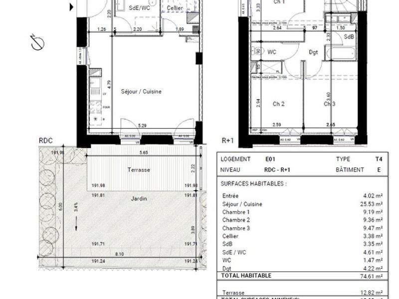 Vente appartement Montrabe 296000€ - Photo 12