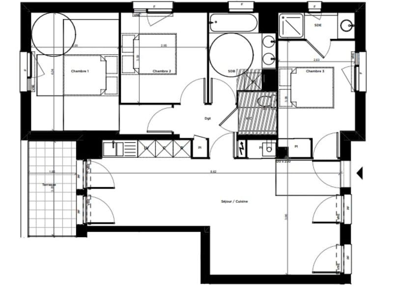 Vente appartement Toulouse 257500€ - Photo 6