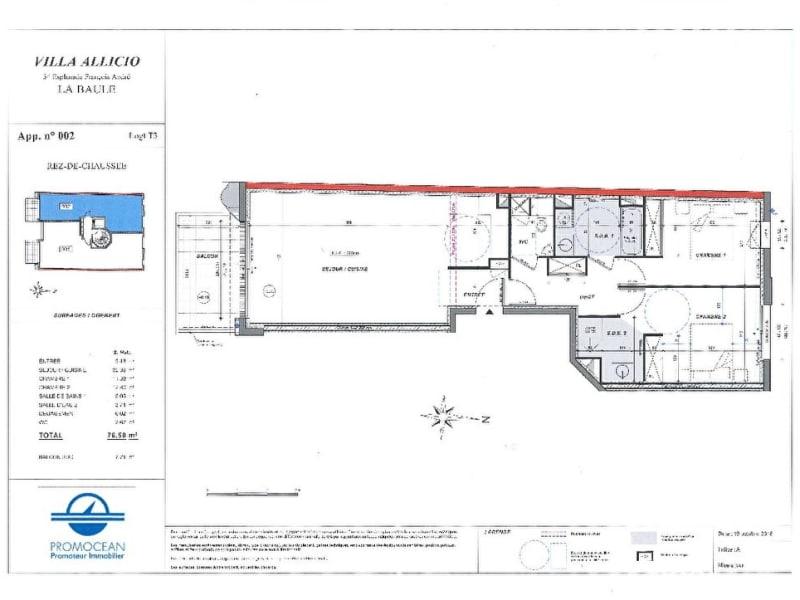 Sale apartment La baule 990000€ - Picture 12