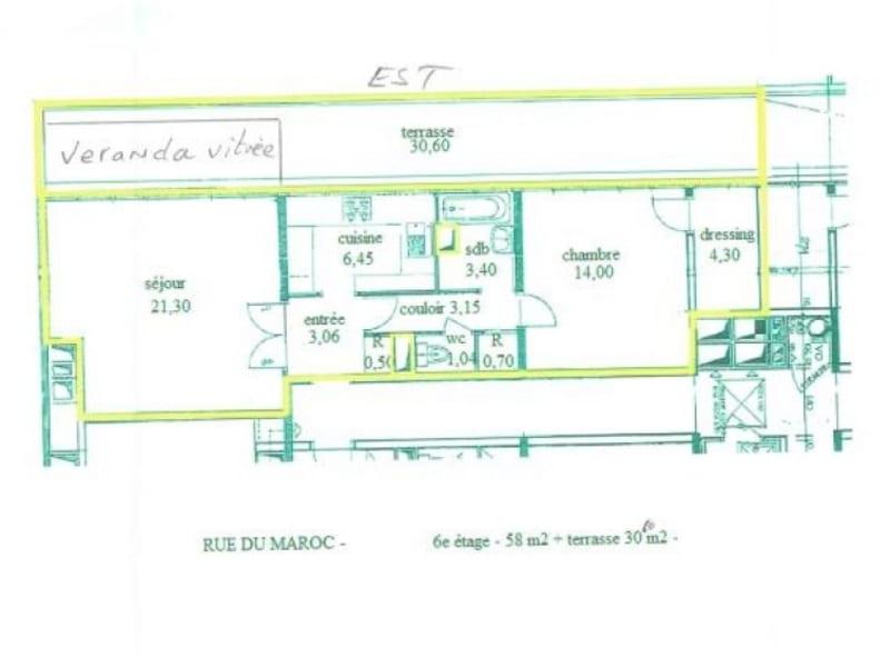 Sale apartment Paris 19ème 624000€ - Picture 10
