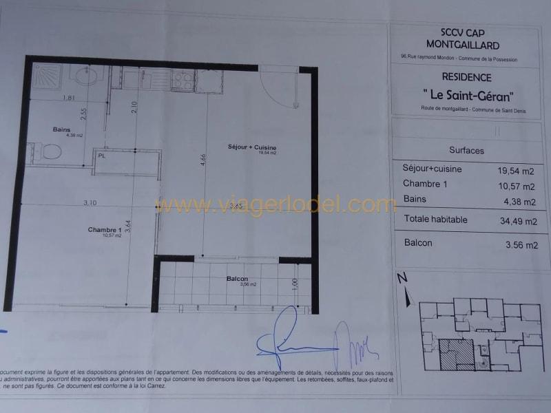 apartamento Saint-denis 72000€ - Fotografia 2