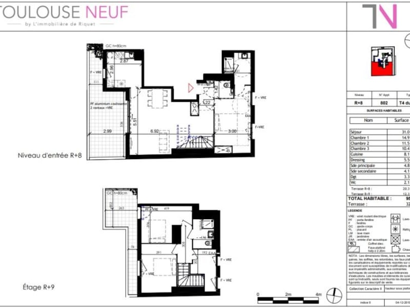 Vente appartement Toulouse 490000€ - Photo 10