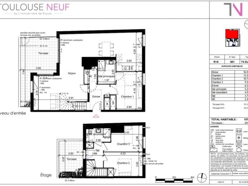 Vente appartement Toulouse 490000€ - Photo 11