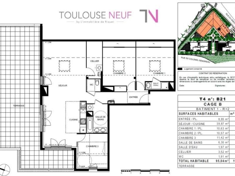 Vente appartement Castanet tolosan 429000€ - Photo 6