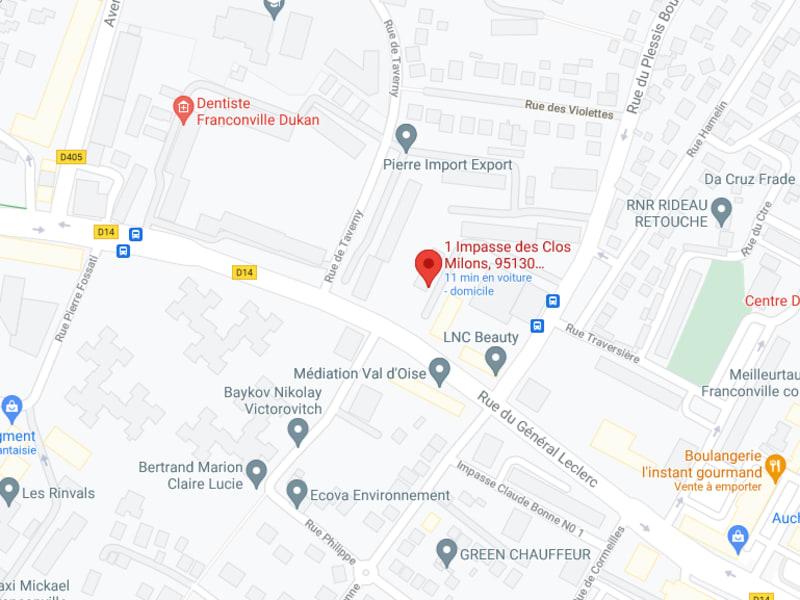 Rental parking spaces Franconville 90€ CC - Picture 3