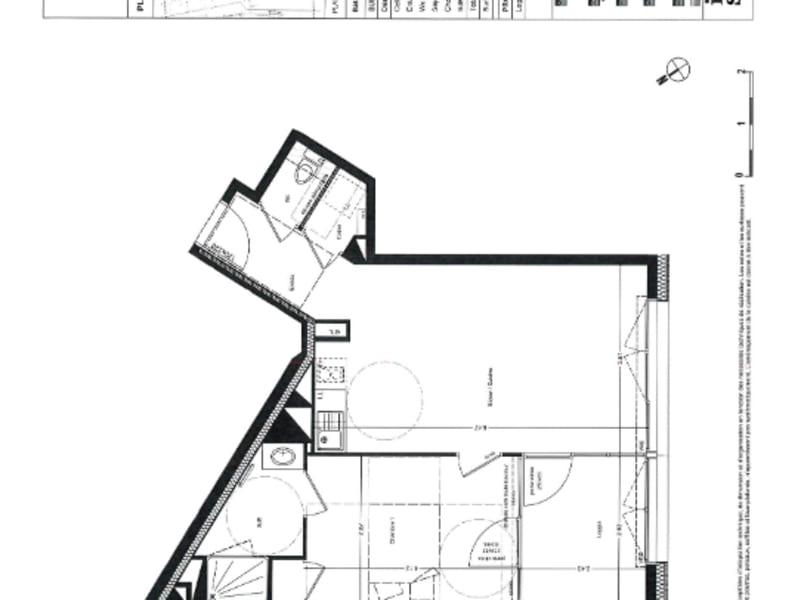 Alquiler  apartamento Nantes 652€ CC - Fotografía 2