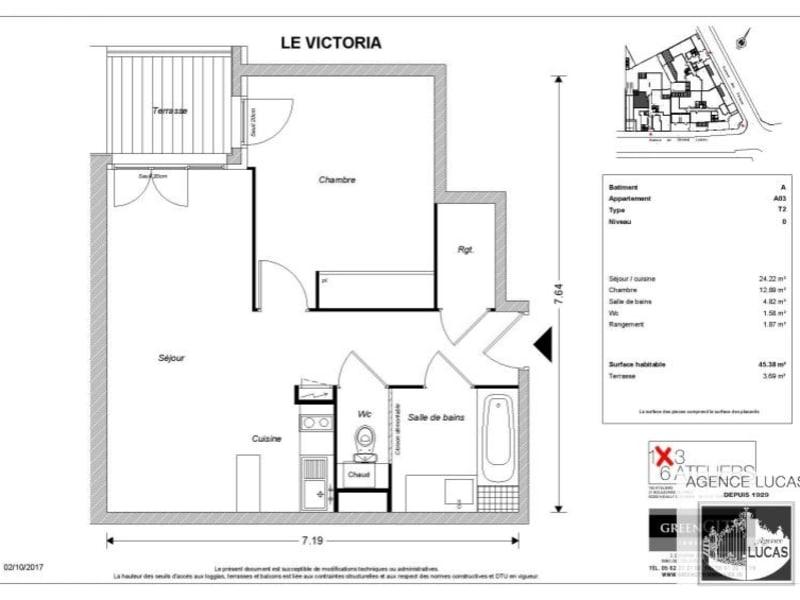 Rental apartment Beauchamp 745€ CC - Picture 2