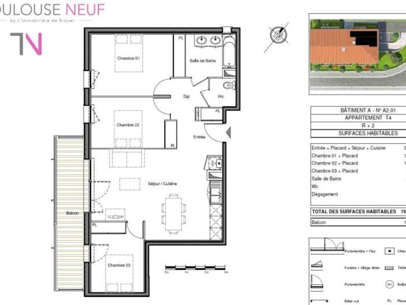 Vente appartement Toulouse 247000€ - Photo 13