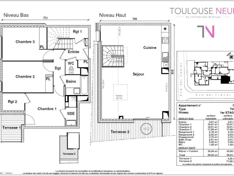 Vente appartement Toulouse 479900€ - Photo 5