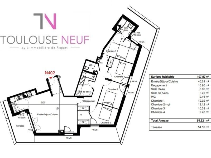 Vente appartement Cugnaux 350000€ - Photo 10
