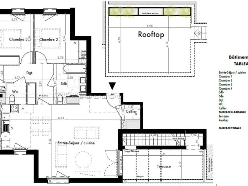 Vente appartement Colomiers 371000€ - Photo 9