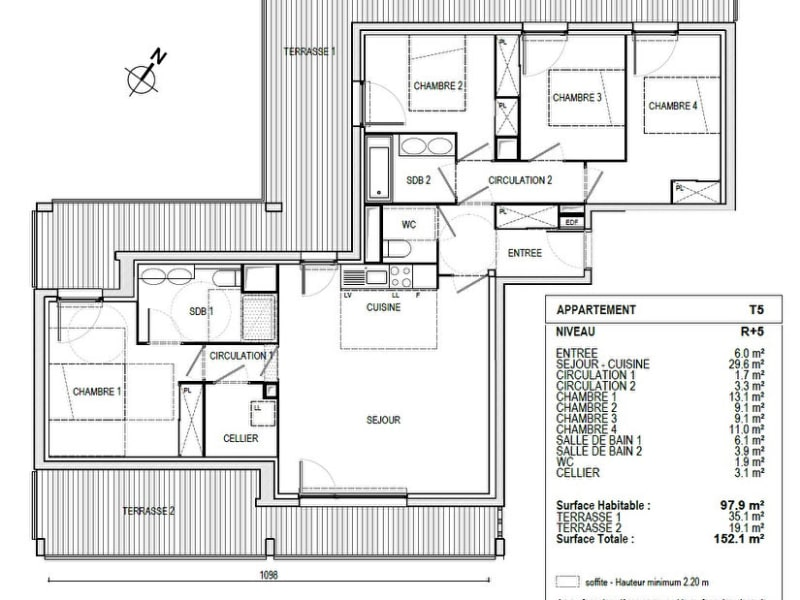 Vente appartement Toulouse 368900€ - Photo 10