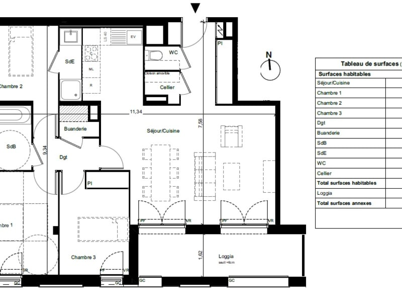 Vente appartement Toulouse 288800€ - Photo 5