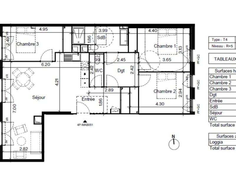 Vente appartement Toulouse 288800€ - Photo 6