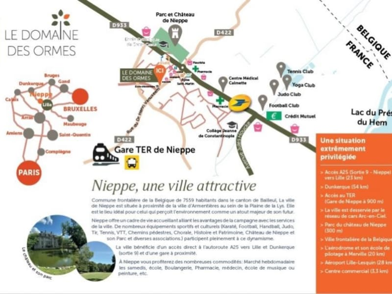 Vente appartement Nieppe 162000€ - Photo 4