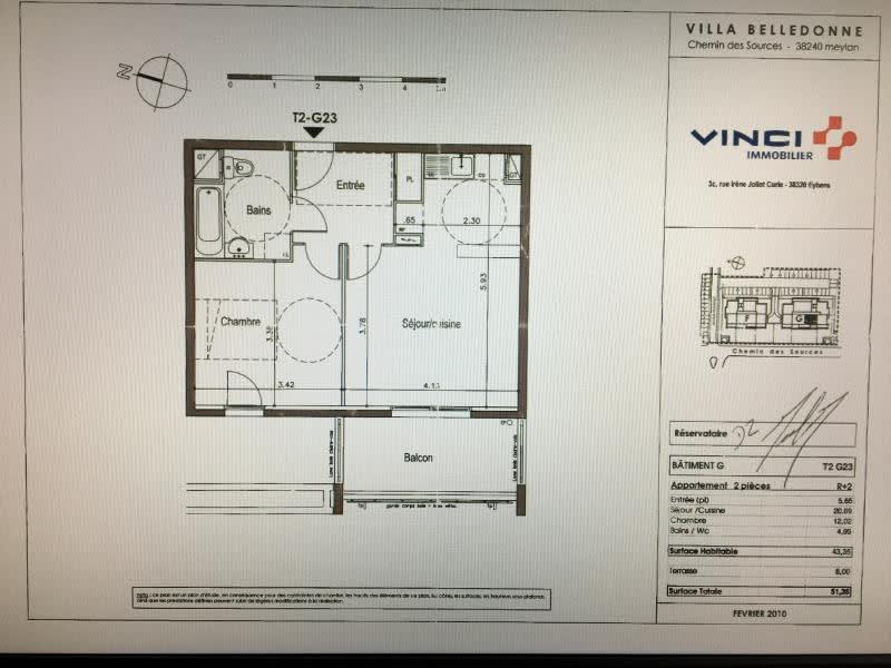 Vente appartement Meylan 185000€ - Photo 15