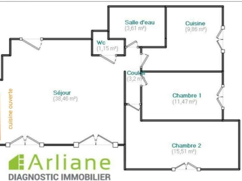 Location appartement Asnieres sur seine 1800€ CC - Photo 11