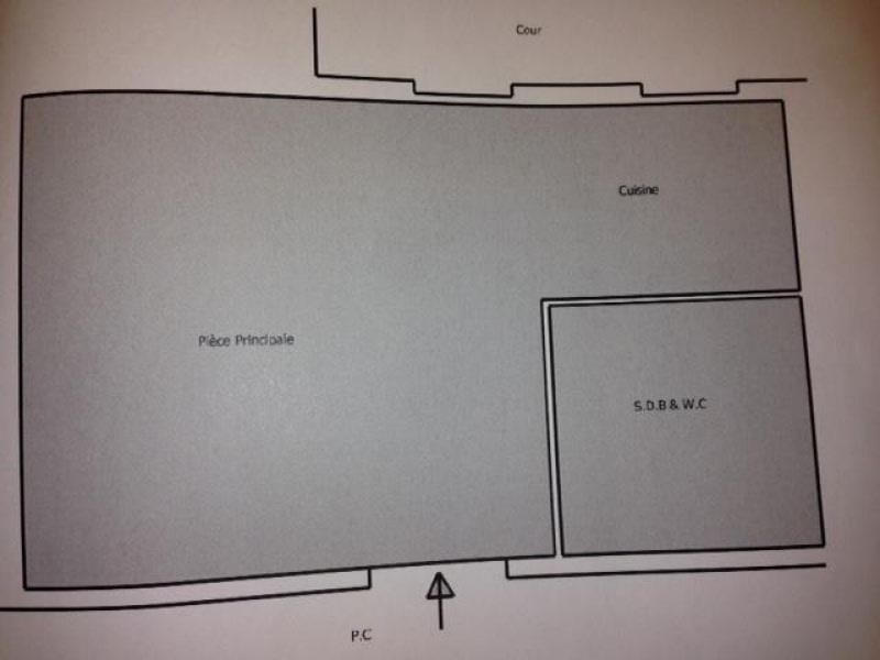 Location appartement La garenne colombes 563€ CC - Photo 3
