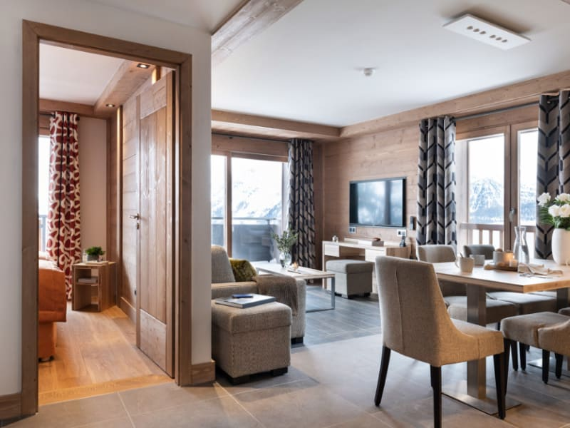 Vente appartement Montvalezan 966667€ - Photo 3