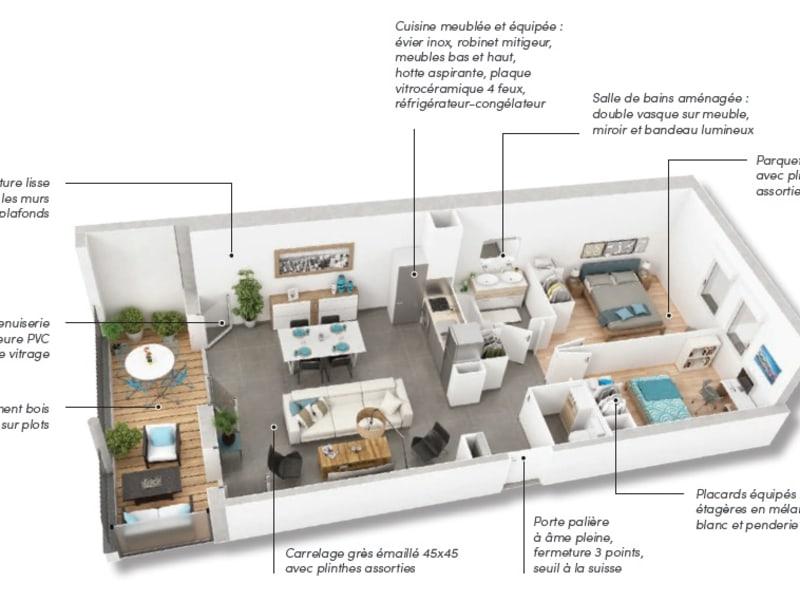 Vente appartement Castanet tolosan 262900€ - Photo 7