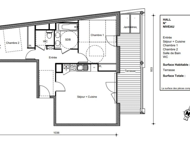 Vente appartement Castanet tolosan 262900€ - Photo 9