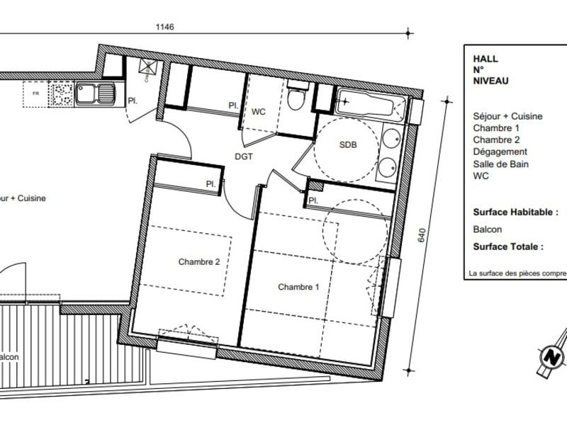 Vente appartement Castanet tolosan 262900€ - Photo 10
