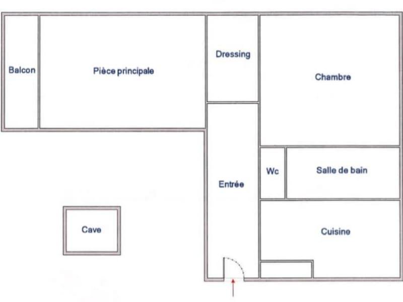 Sale apartment Paris 14ème 660000€ - Picture 1