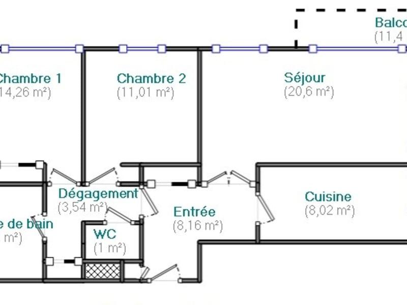 Venta  apartamento Boulogne billancourt 529000€ - Fotografía 11