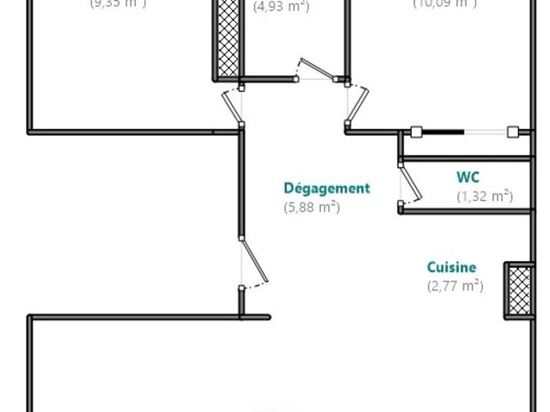 Venta  apartamento Boulogne billancourt 549000€ - Fotografía 8