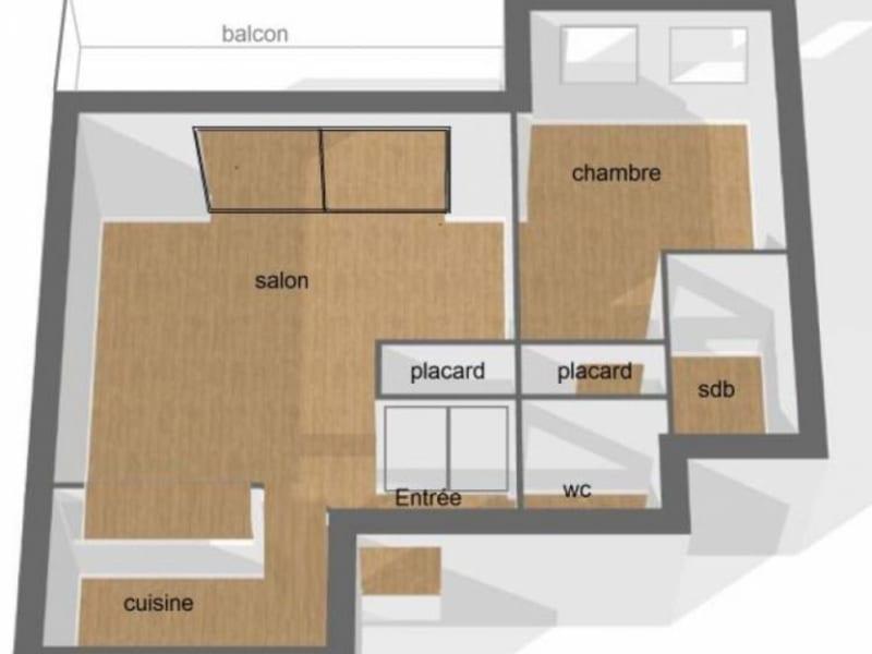 Sale apartment Bordeaux 275600€ - Picture 5