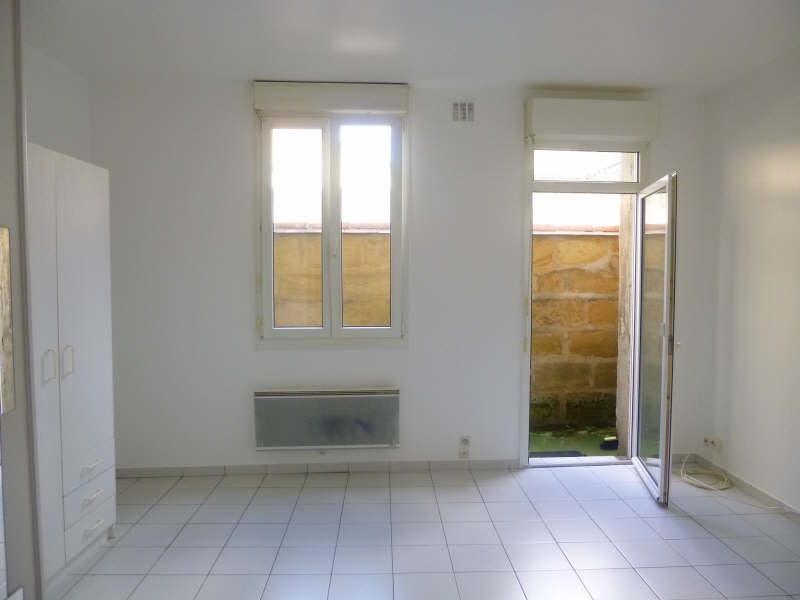Rental apartment Bordeaux 472,53€ CC - Picture 1