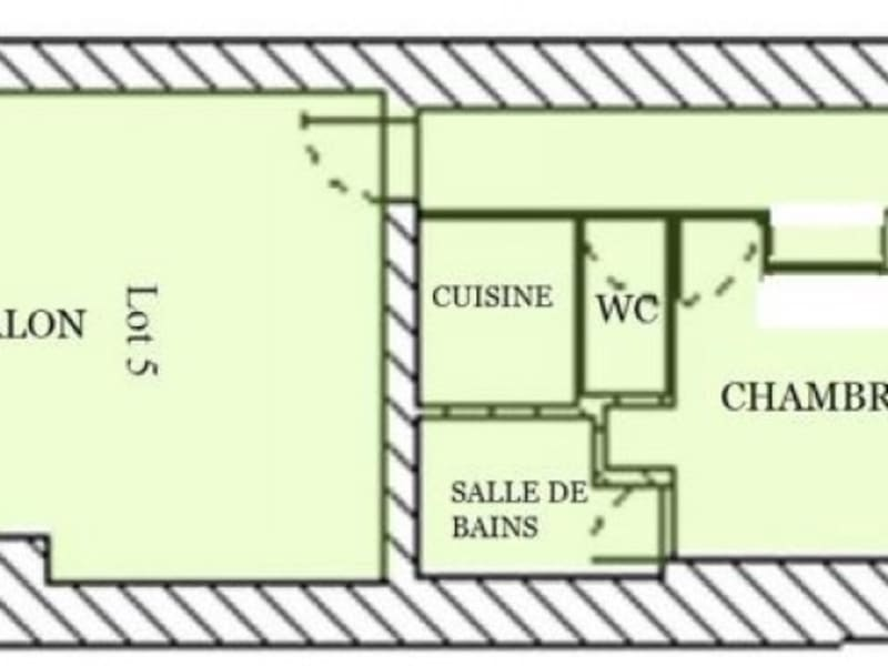 Sale apartment Bordeaux 312500€ - Picture 4