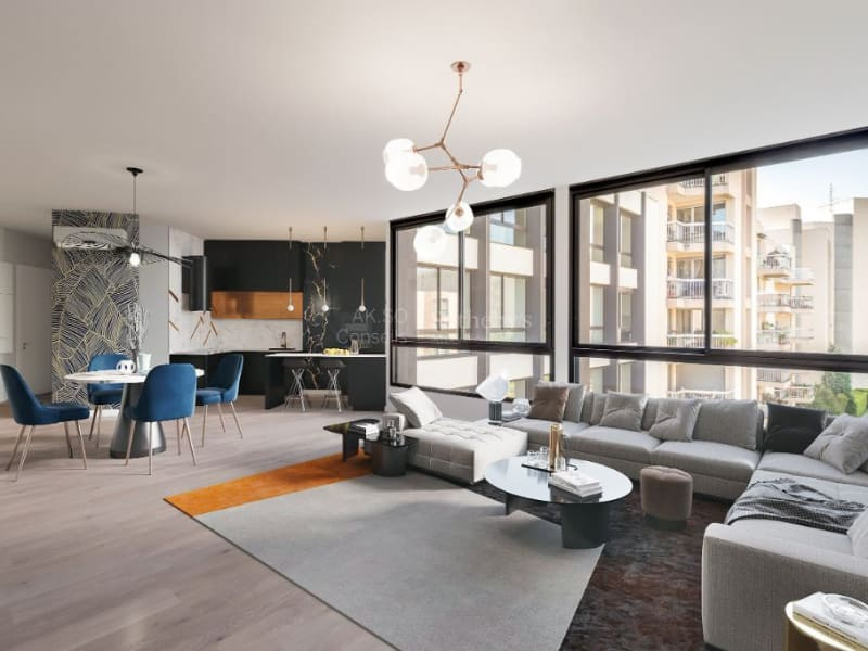 Vente appartement Lyon 8ème 750000€ - Photo 1