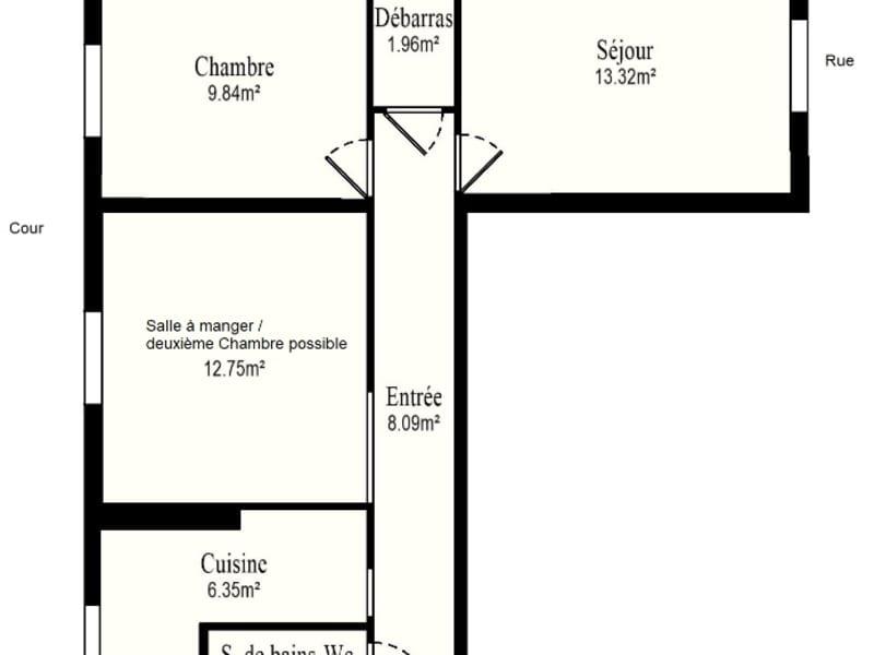 Vente appartement Vanves 376000€ - Photo 13