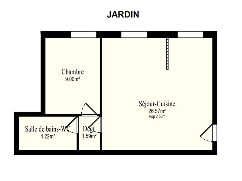 Vente appartement Vanves 344400€ - Photo 10