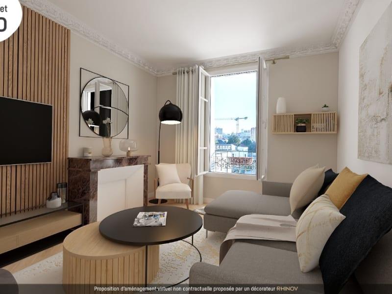 Vente appartement Vanves 376000€ - Photo 2