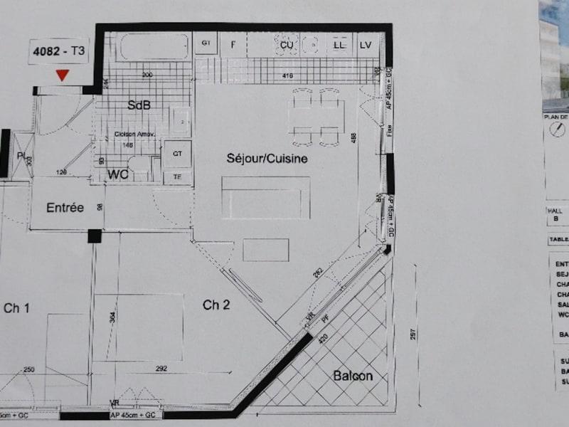 Location appartement Massy 944€ CC - Photo 1