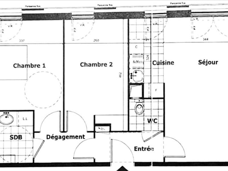Alquiler  apartamento Aubervilliers 1200€ CC - Fotografía 10