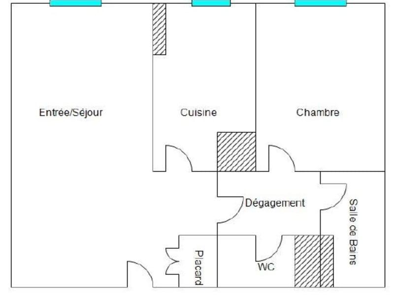 Sale apartment Villejuif 294000€ - Picture 10