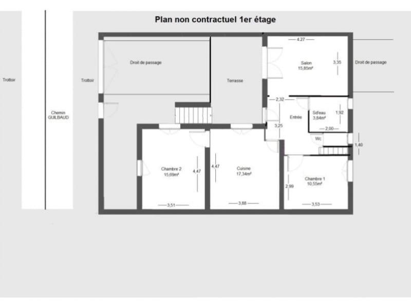 Sale house / villa Grenoble / bajatiere 241500€ - Picture 3