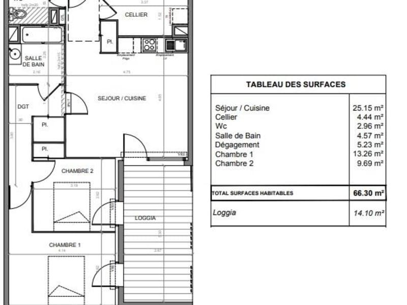 Vente appartement Toulouse 235000€ - Photo 10