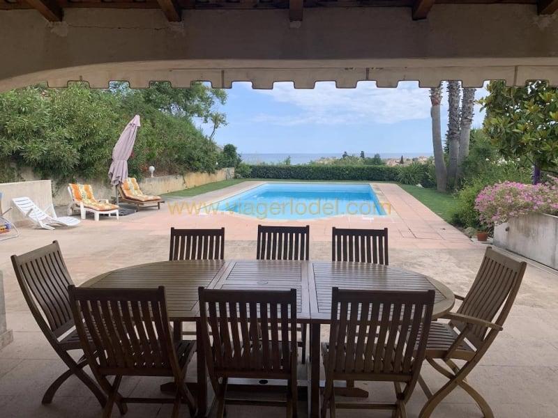 Vendita nell' vitalizio di vita casa Antibes 595000€ - Fotografia 1