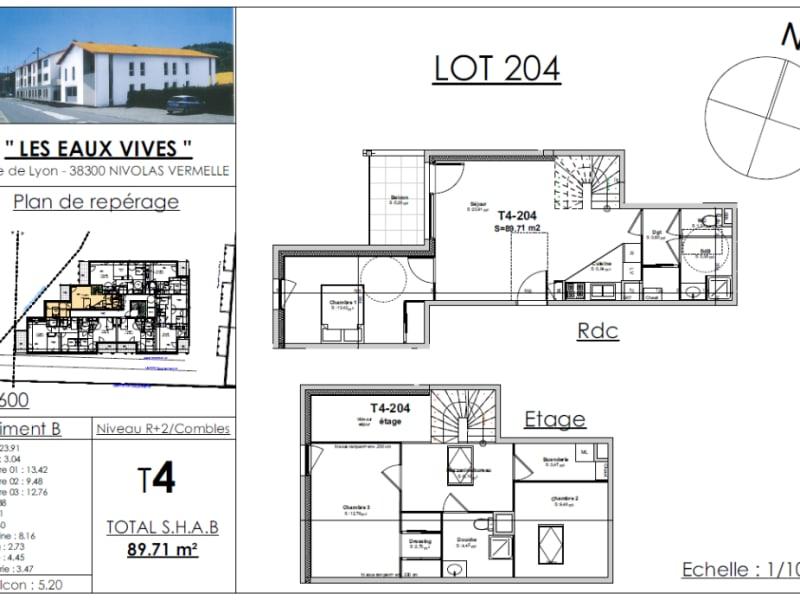 Sale apartment Nivolas vermelle 285238€ - Picture 2