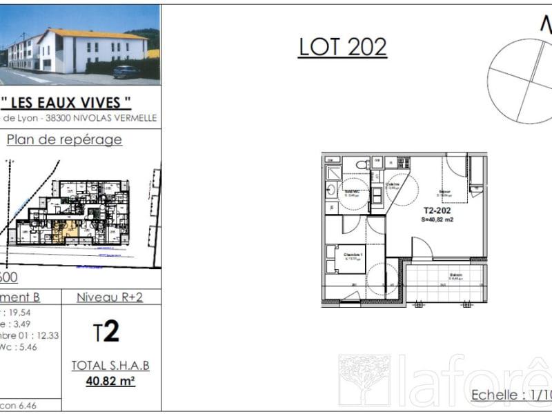 Sale apartment Bourgoin jallieu 136115€ - Picture 2