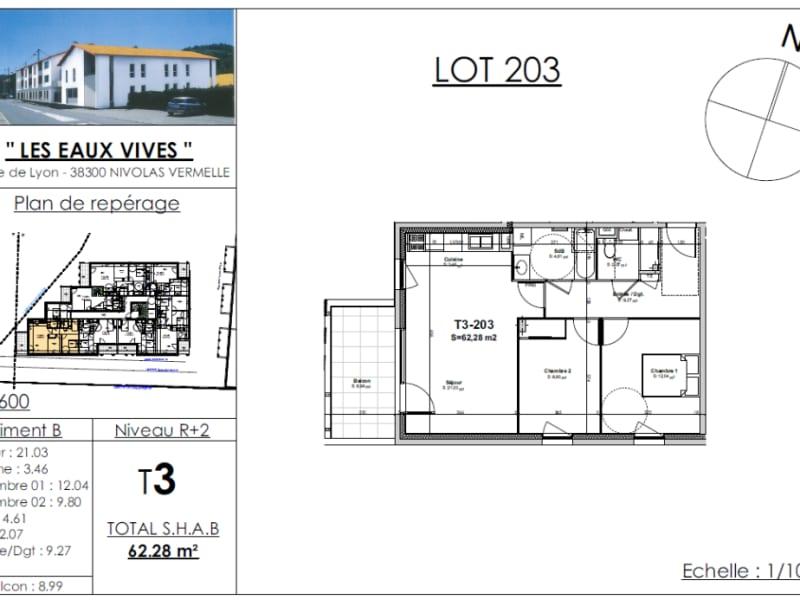 Sale apartment Nivolas vermelle 206335€ - Picture 2