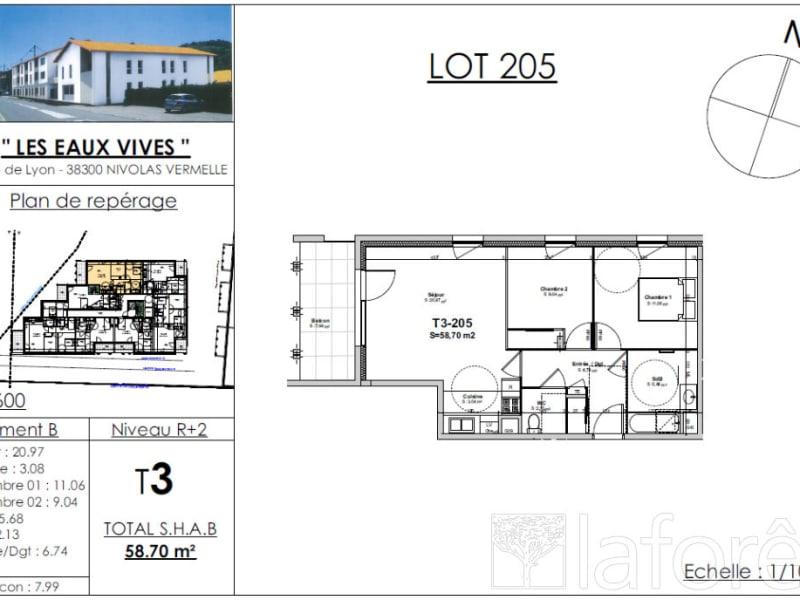 Sale apartment Nivolas vermelle 193728€ - Picture 2