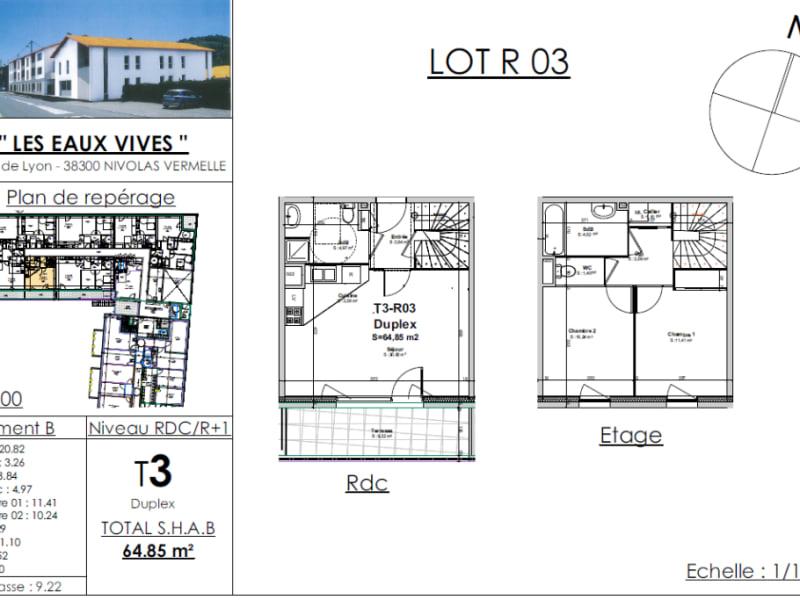 Sale apartment Bourgoin jallieu 214631€ - Picture 2