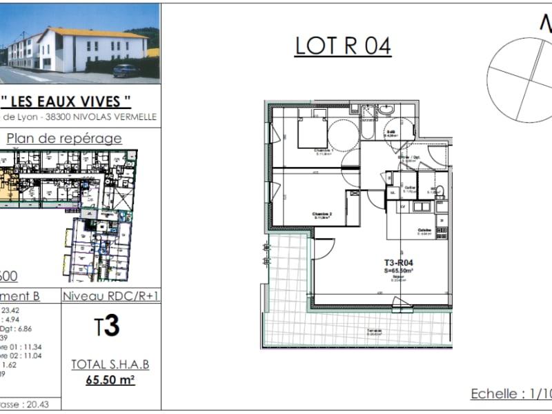 Sale apartment Bourgoin jallieu 230205€ - Picture 2