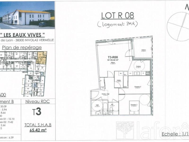 Sale apartment Bourgoin jallieu 212020€ - Picture 2