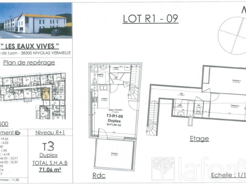 Sale apartment Nivolas vermelle 237158€ - Picture 2
